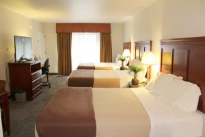 Triple Queen Bedroom offers unique lodging for groups